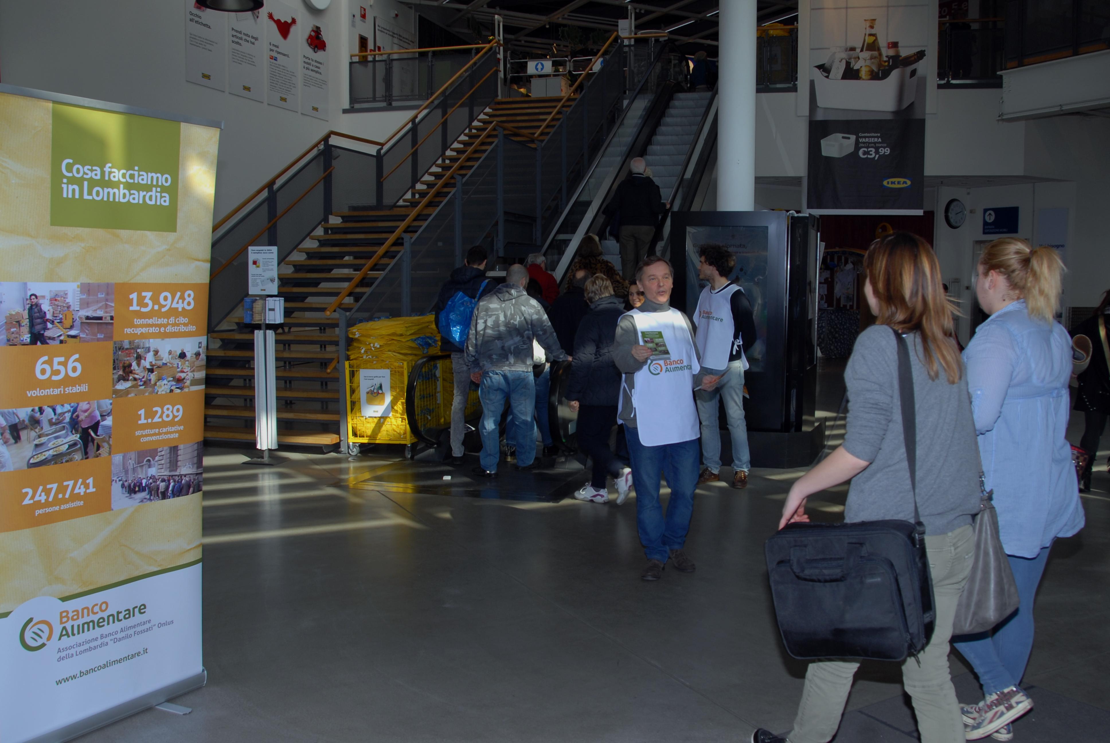 Ikea con banco alimentare della lombardia cuciniamo la bont banco alimentare - Navetta per ikea corsico ...