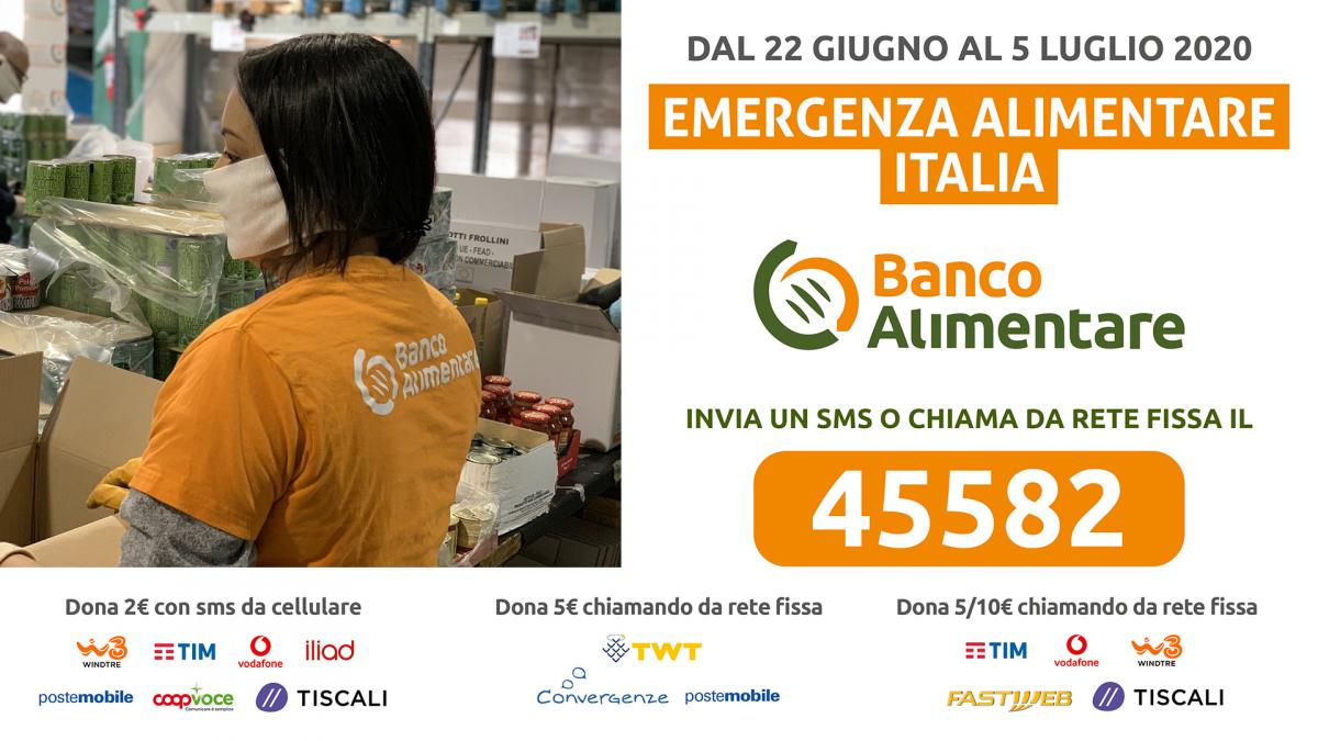SMS solidale Banco Alimentare