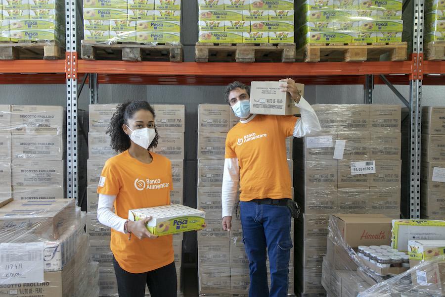 Foto magazzino Viterbo - Expedia per Banco Alimentare