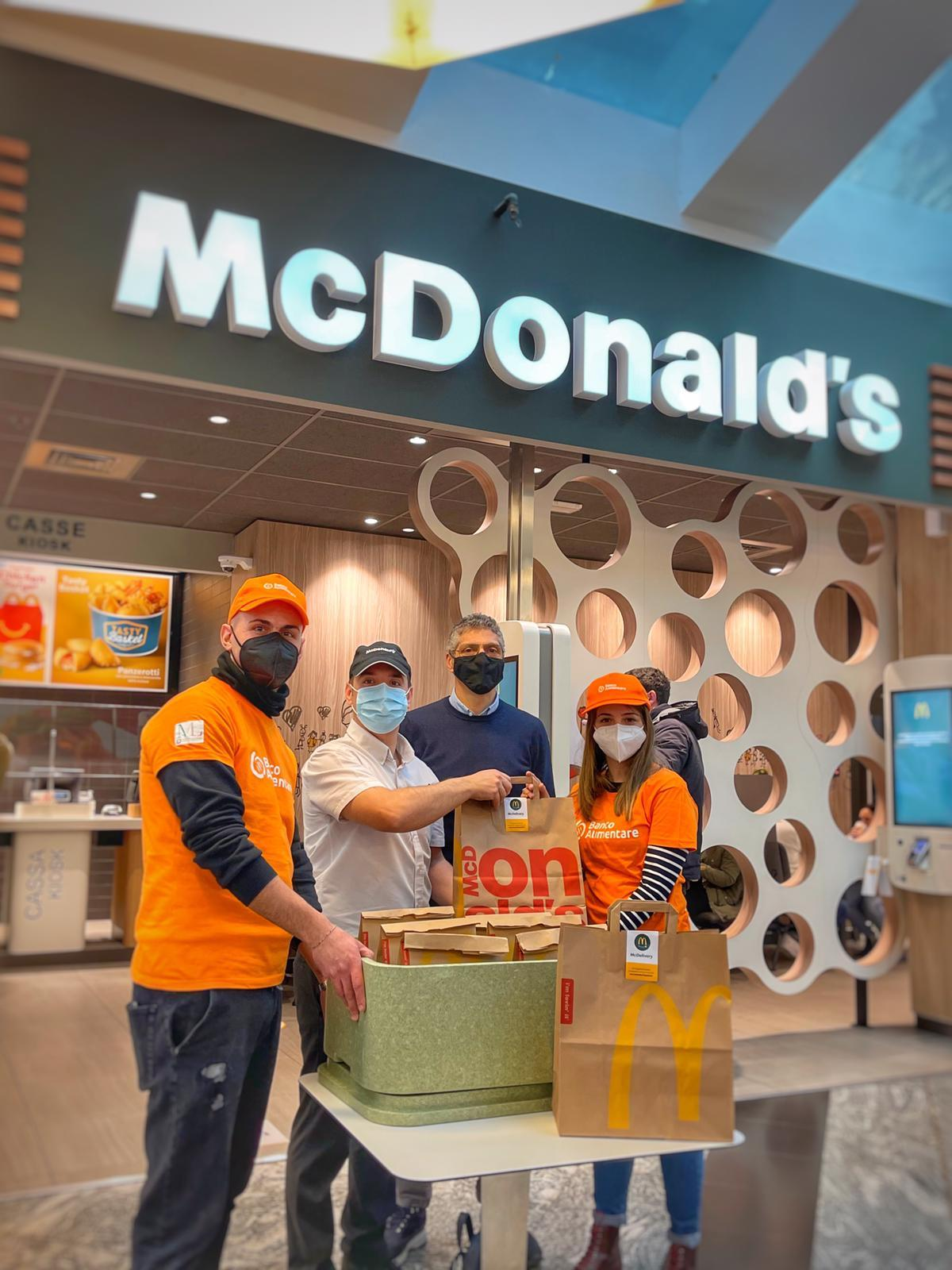 McDonald e Banco Alimentare - Sempre Aperti a Donare