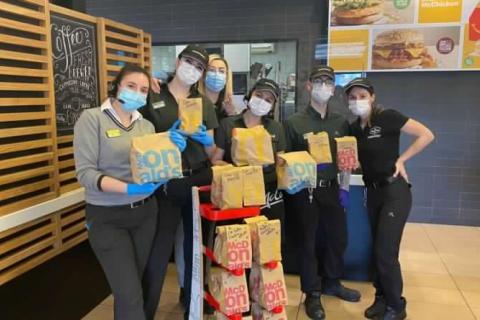 Sempre Aperti a Donare - McDonald's a San Benedetto del Tronto