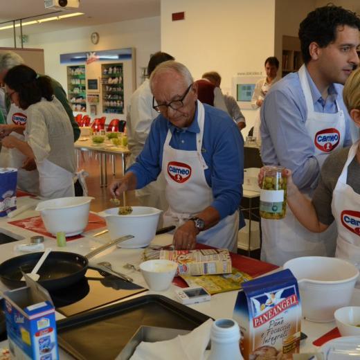 Volontario Giorgio Migliari Banco Alimentare