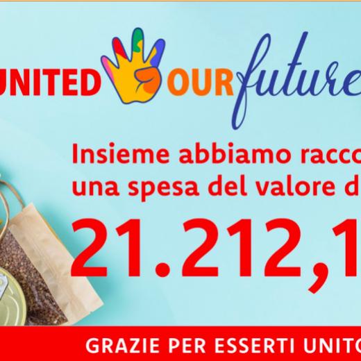 Così cambia il presente - Campagna United4OurFuture - home page piattaforma